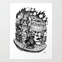 ABSOLEM-CHESHIRE CAT Art Print
