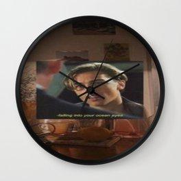 Leonardo DiCaprio wallpaper Wall Clock