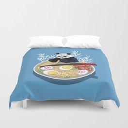 Ramen Panda Duvet Cover