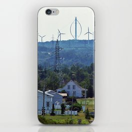 Turbine Hill iPhone Skin