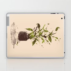 A Writer's Ink Laptop & iPad Skin