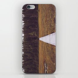 Fall Hiking iPhone Skin