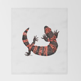 Gila Monster Throw Blanket