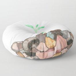 Rocks Floor Pillow