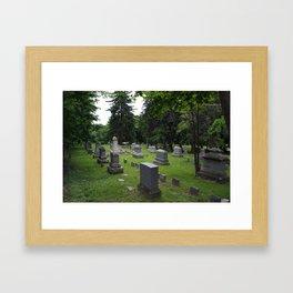 Peace. Framed Art Print