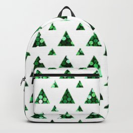 little green trees Backpack