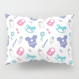 cute children pattern 1 Pillow Sham