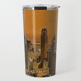 New York Dawn Travel Mug