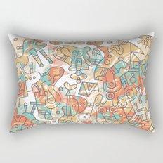 Schema 19 Rectangular Pillow