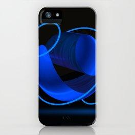 Wood Night 1 iPhone Case