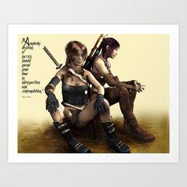 Warriors Art Print