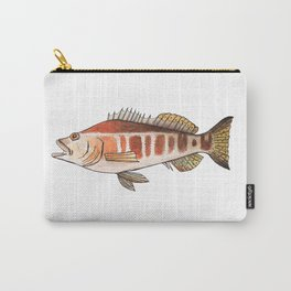 Blacktail Comber: Fish of Portugal Carry-All Pouch
