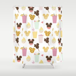 Magic Food Shower Curtain