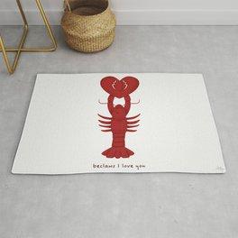 Loving Lobster Rug
