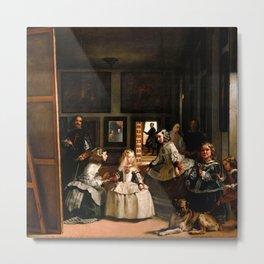"Diego Velázquez ""Las Meninas (The Maids of Honour)"" Metal Print"