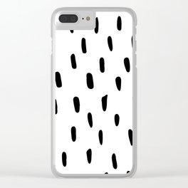 _ B A S I C Clear iPhone Case