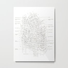 Chambers Metal Print