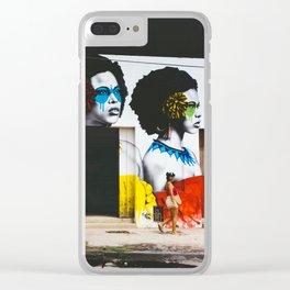 Street Art, Getsemani, Cartagena, Colombia Clear iPhone Case