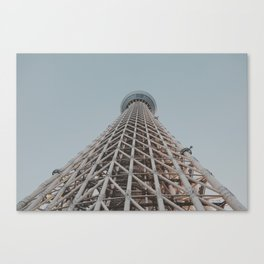 Skytree Canvas Print