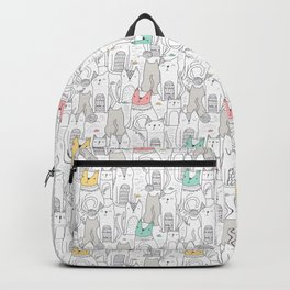 Doodle Cats Backpack