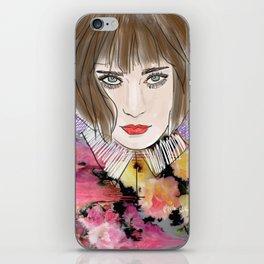 Floral chloe iPhone Skin