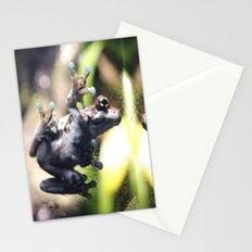 Sticky Frog Stationery Cards