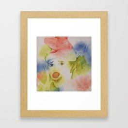 Paillasse Framed Art Print