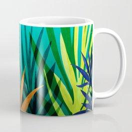 Midnight In The Jungle / Tropical Landscape Coffee Mug