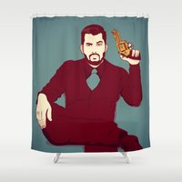 welcome Shower Curtains featuring Welcome by FalcaoLucas