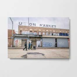 We Run These Streets Metal Print