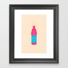 Kool-Aid Burst Framed Art Print