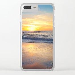 Windansea Sunset Clear iPhone Case