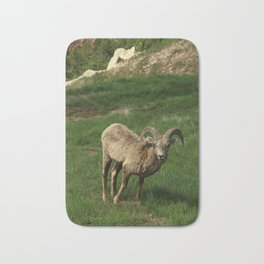Bighorn Sheep Bath Mat