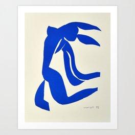 Blue Nude Dancing - Henri Matisse Art Print