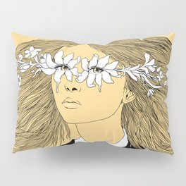 Flowers in My Eyes (Life in a Glimpse) Pillow Sham