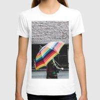 umbrella T-shirts featuring umbrella by Deviens