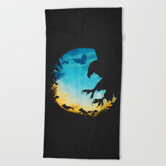 The Chase Beach Towel