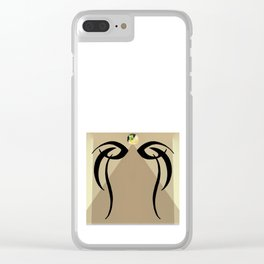 Eye of Priestess Clear iPhone Case