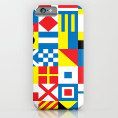 International Alphabetical Marine Signal Flags iPhone 6s Slim Case