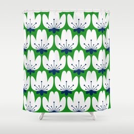 FLORAL_BLOSSOM_003 Shower Curtain