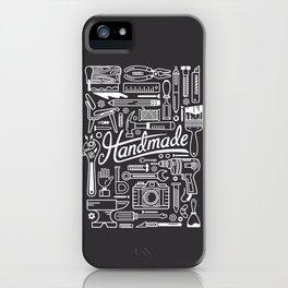 Make Handmade - Black iPhone Case