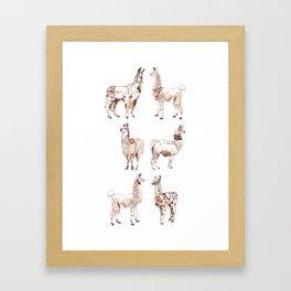 LLAMARAMA Framed Art Print