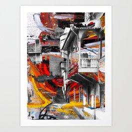 Tbilisi 1 Art Print
