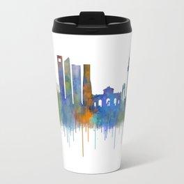 Madrid City Skyline HQ v4 Travel Mug