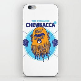 Hipster Chewie iPhone Skin