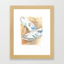 Samba Framed Art Print