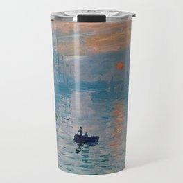 Claude Monet - Impression Sunrise Travel Mug