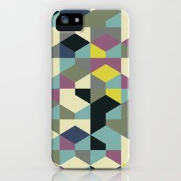 Abstract Geometric Artwork 53 iPhone Case