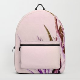 Duotone Aloe Vera on pastel Coral Backpack