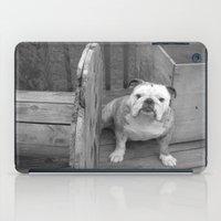 bulldog iPad Cases featuring Bulldog by Kaleena Kollmeier